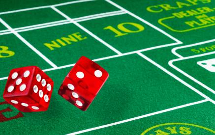 Craps dice gambling bond casino james music royale