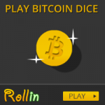Rollin image with bitcoin