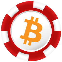 betcoin image on a poker chip