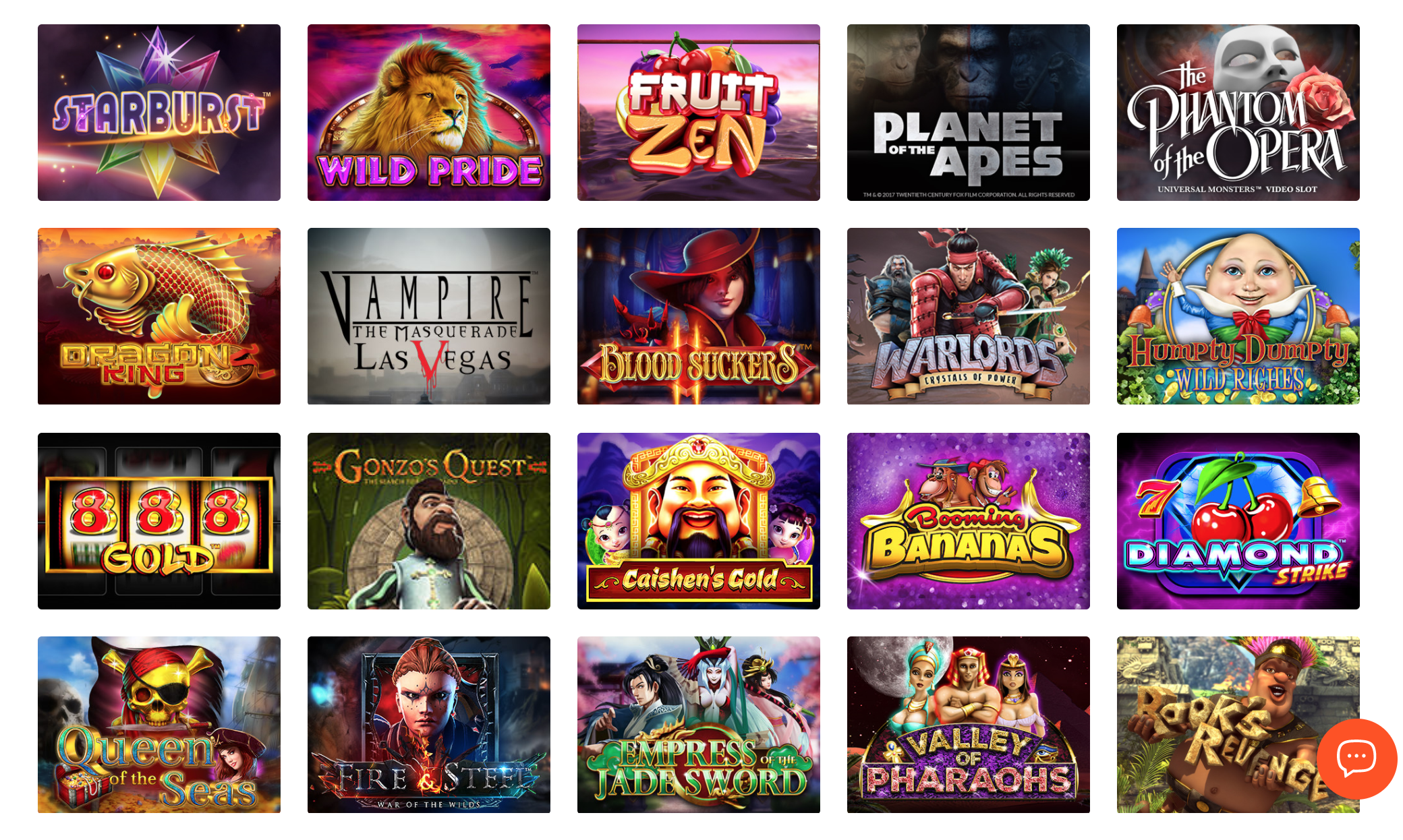 Slot games at BitCasino.io