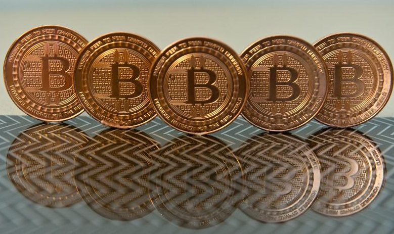 6 bitcoins image with 6 coins
