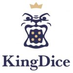 King Dice logo with big dice image