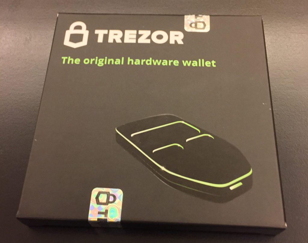 Trezor box photo