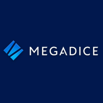 Blue MegaDice logo