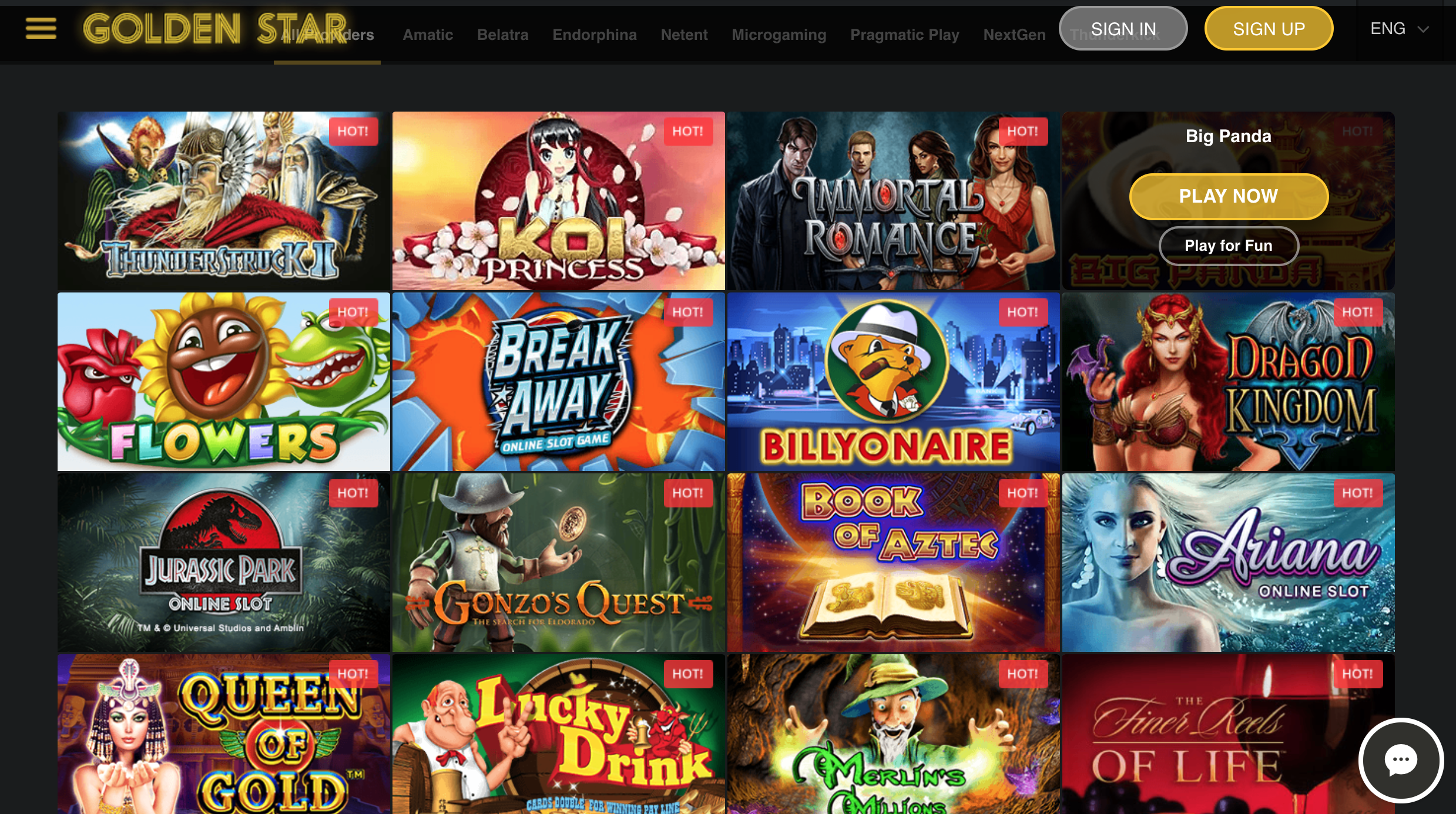 Slot homepage Golden Star