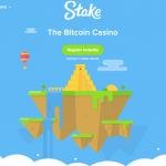Stake Casino Homepage