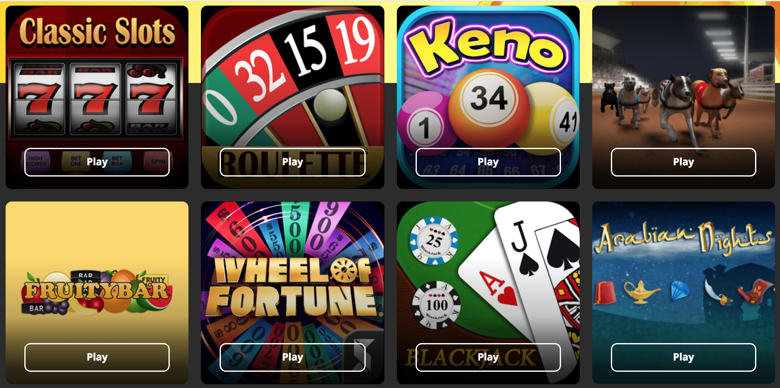 Zero bet slot games
