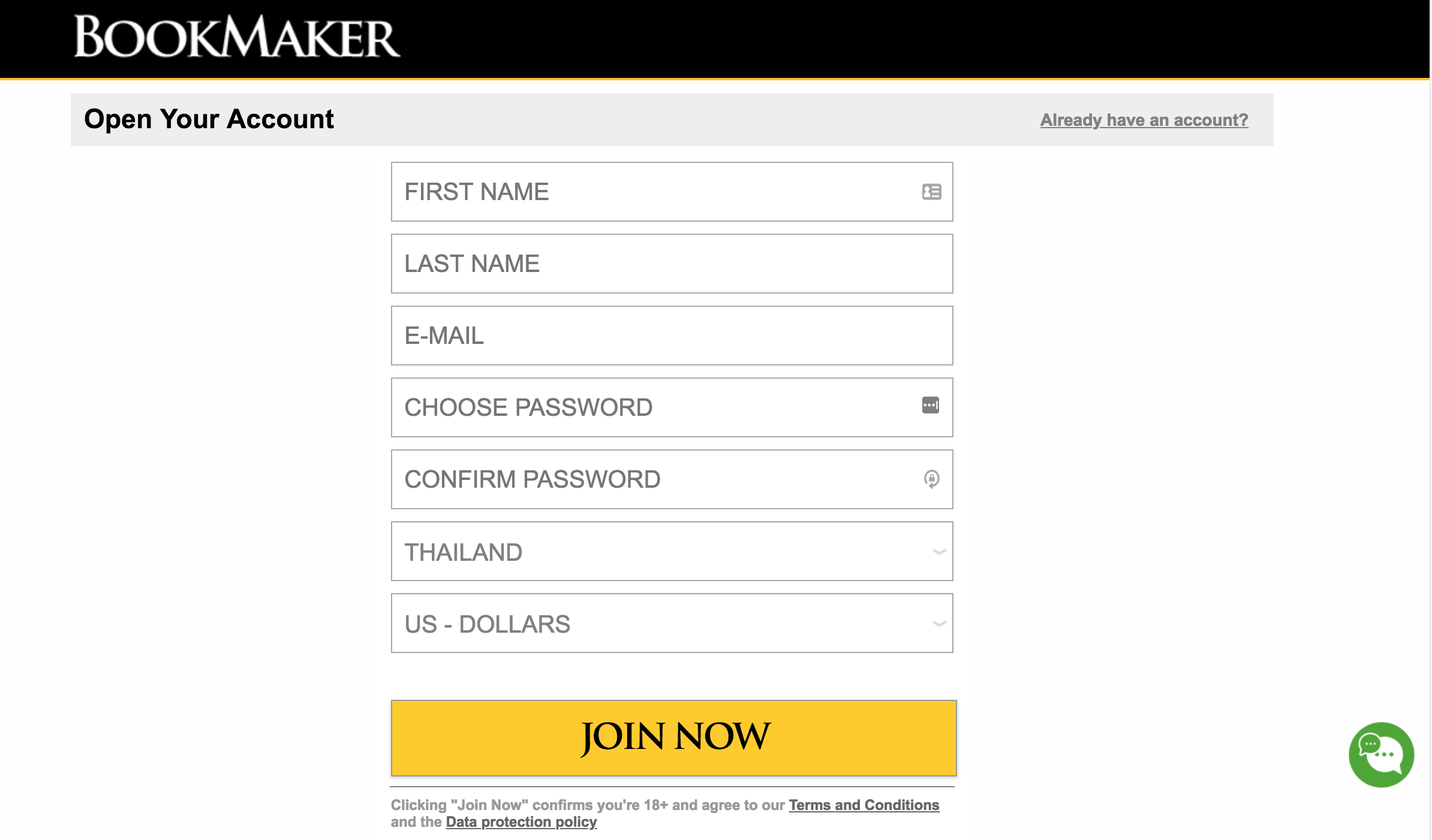 Account Registration